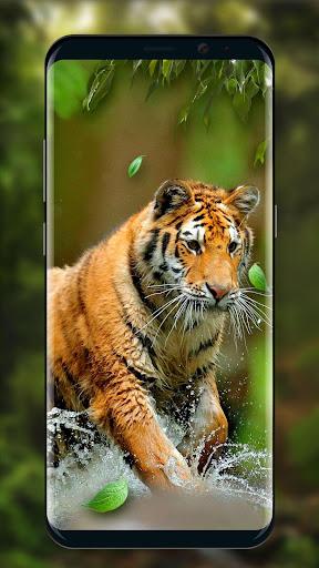 Moving Tiger Live Wallpaper screenshots 3