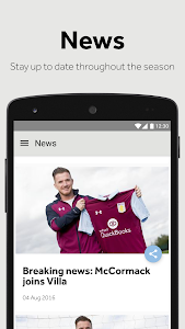 Aston Villa screenshot 1