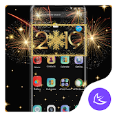 2019 Happy New Year APUS Launcher Theme Android APK Download Free By Cool Theme Team