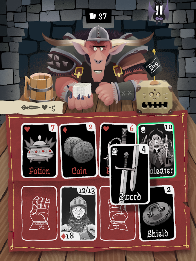 Card Crawl- screenshot