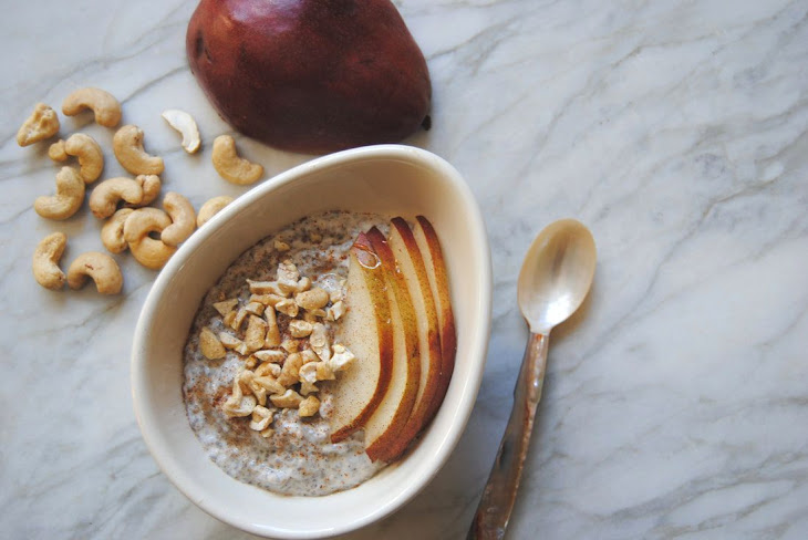 Chia and Pear Pudding Recipe