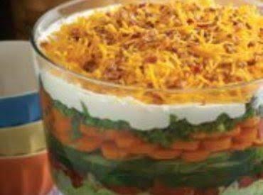 7th Heaven Layer Salad Recipe