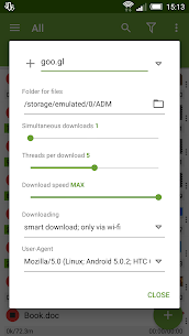 Advanced Download Manager & Torrent downloader 7