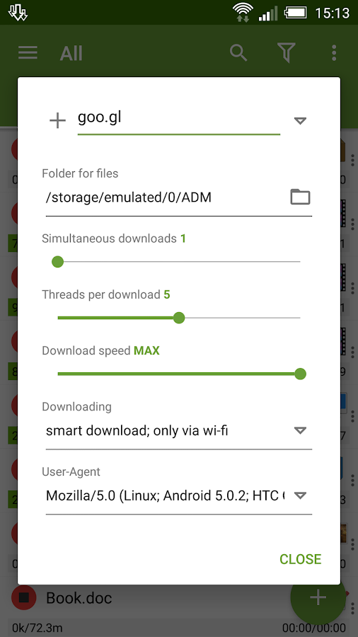 Advanced Download Manager- screenshot