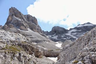 Photo: da sx: cima D'agola, Bocca dei due Denti, Cima Susat e Cima Prato Fiorito