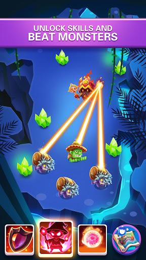 Hero War - Magic vs Monster Bounzy Brick Idle RPG apkdebit screenshots 8