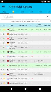 Live Tennis Rankings / LTR MOD (Unlocked) 2