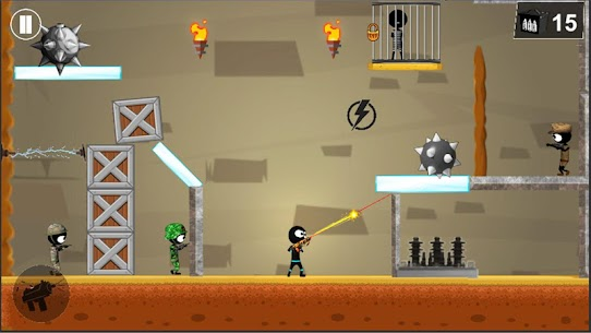 Stickman Shooter Elite Strikeforce 2