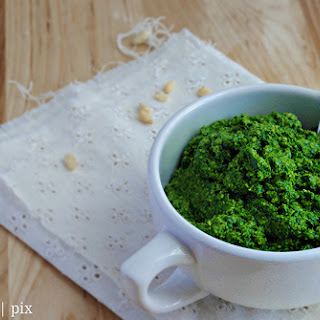 Raw Kale Pesto