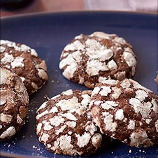Gluten Free Brownie Crackle Cookies