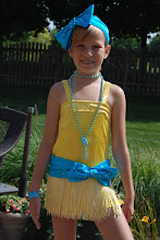 Photo: Custom Made!  To buy ( Forget about the boy! w/necklace) email me at Pam @Act2dancecostumes.com   $125.00  QTY: 2 sz: (1) small/med child (1) Child Med   Loaded with crystal & blue swarovski rhinestonres 20's/30's. The skirt has fring rhinestones intermixed with the yellow fringe. Design is a dress with spankies. Comes with attached necklace, hairbow, armbands & shoe bows.   PayPal/Credit accepted. 7 day returns in same condition $10 US shipping CS010a, CSD11