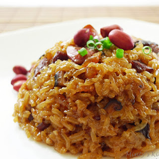 Savoury Glutinous Rice (Lor Mai Fun) Recipe
