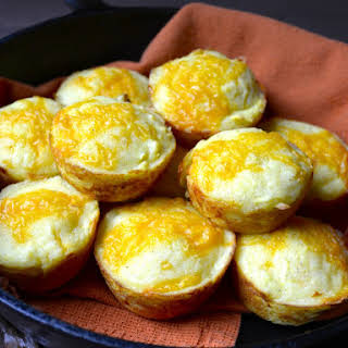 Cheddar and Summer Squash Cornmeal Muffins.