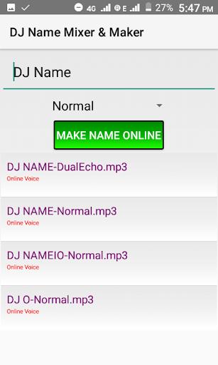 DJ Name Mixer & Maker