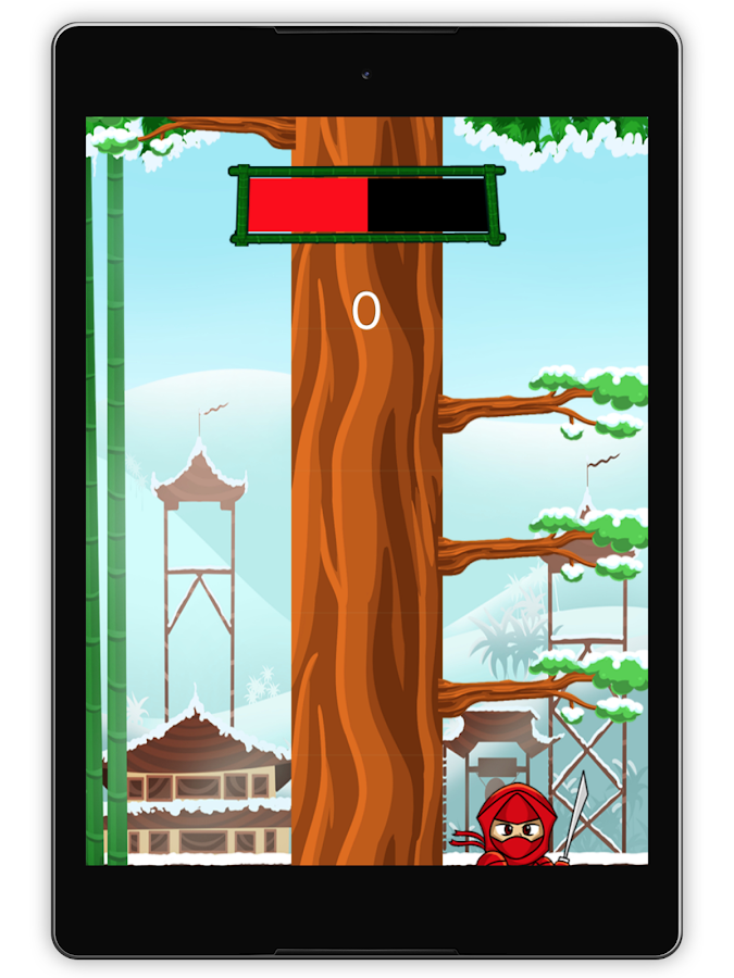 Wood Ninja- screenshot