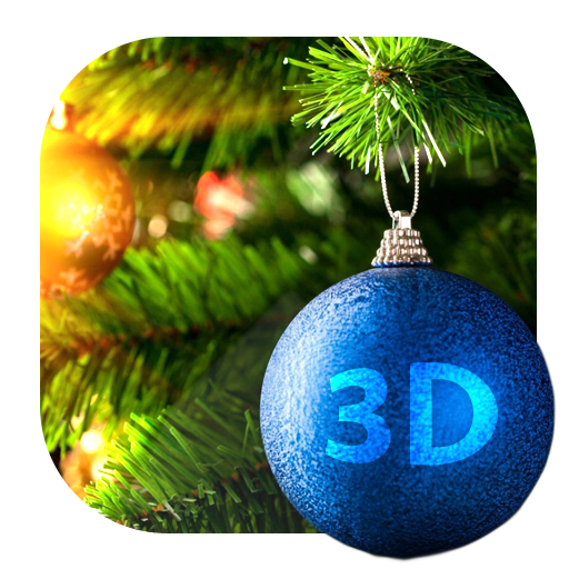 个人化のクリスマスおもちゃの3Dライブ壁紙 LOGO-記事Game