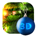 Christmas Toy 3D Live Wallapap icon