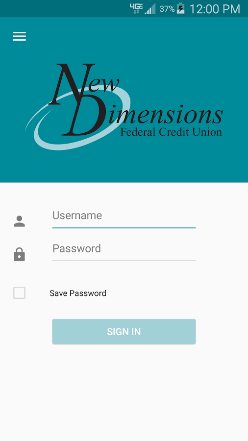 NDFCU Mobile Access- screenshot