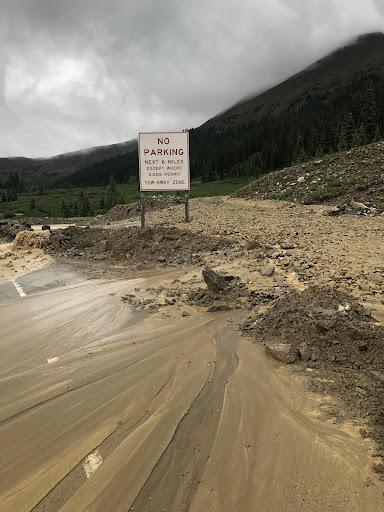 U.S. 6 over Loveland Pass shut by mudslides, hazmat vehicles must now go through Eisenhower tunnel
