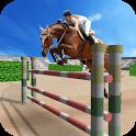 Jumping Horse Racing Simulator icon