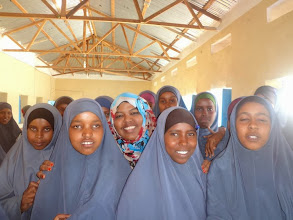 Photo: The creation of Girls Empowerment Forums and Life Skills training on topics such as confidence building and communication skills for girls in secondary schools boosts up their self esteem.  In this picture girls learn about what holds them back and are given 2-day training on lifeskills.