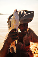 Photo: Bahar Dar - Lake Tana - Fisherman