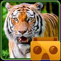 Amazon Rainforest VR Zoo Animals (Cardboard) icon