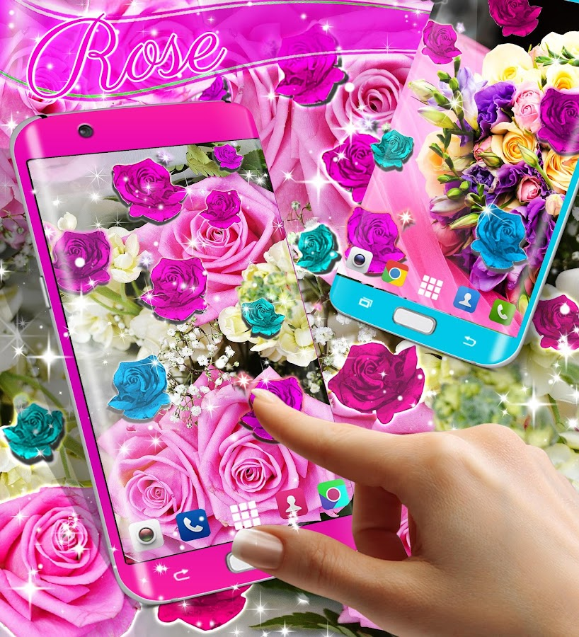 Rose live wallpaper 2017 - Android Apps on Google Play
