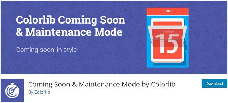 Coming-Soon-Maintenance-Mode-by-Colorlib-Plugin-bao-tri-WordPress