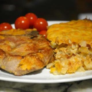 Creamy Potato Pork Chop Casserole Recipe
