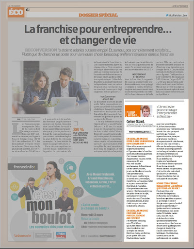 le PARISIEN ECO FRANCHISE