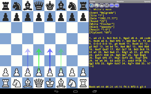 DroidFish Chess 1.82 screenshots 9