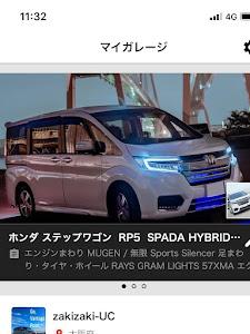 ステップワゴン  RP5  SPADA HYBRID G・EX Honda SENSINGのカスタム事例画像 zakizaki-UCさんの2019年01月15日20:02の投稿