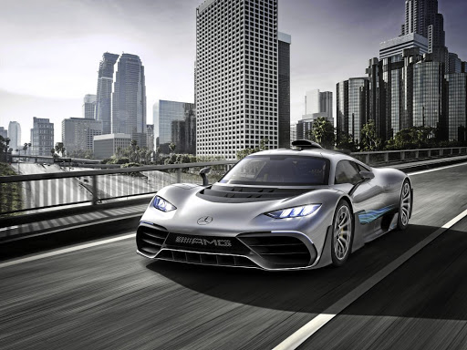 Mercedes-AMG has unveiled its F1-engined Project One hypercar. Picture: NEWSPRESS UK