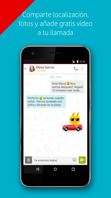 Vodafone Call+ & Message+