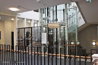 Photo: Old and new elements. Göteborgs nya stadsbibliotek/Gothenburg's New City Library.