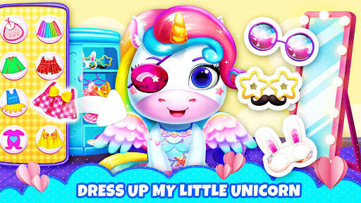 My Little Unicorn: Games for Girls apkpoly screenshots 2