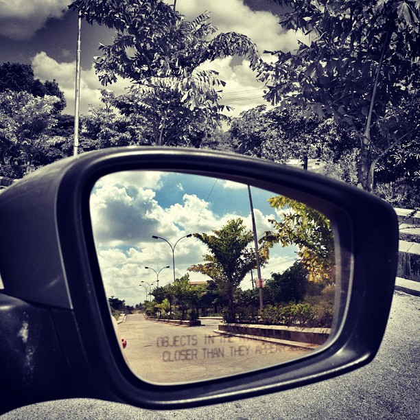 wish i cud drive bak to my past.... by Abul Faizy S M - Instagram & Mobile iPhone