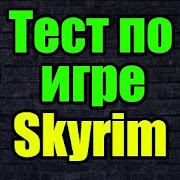 Game Тест для Skyrim APK for Kindle
