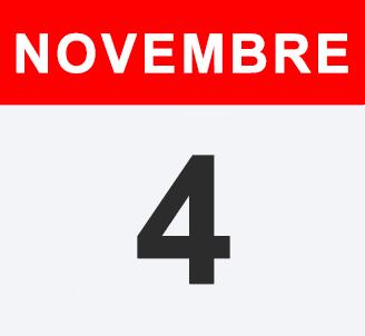 4 - 5 - 6 Novembre 2017
