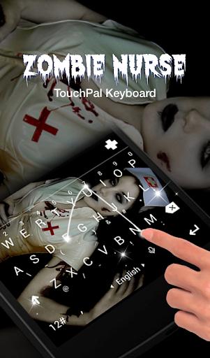 玩免費個人化APP|下載Zombie Nurse Keyboard Theme app不用錢|硬是要APP