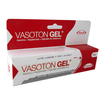 Vasoton Gel Tubo X 40G.