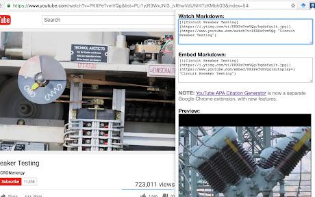 YouTube GitHub Markdown Button Chrome插件下载crx 扩展介绍