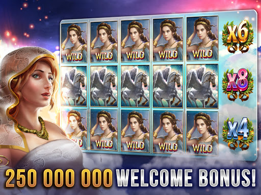 Slots Casino Games God of Sky Screenshot