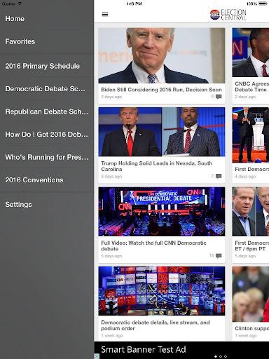 2016 Election App Screenshot