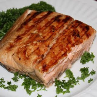 Grilled Salmon, The House Special.