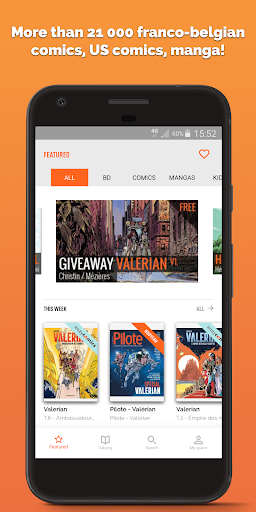 Izneo, Read Manga, Comics & BD 8.0 screenshots 1