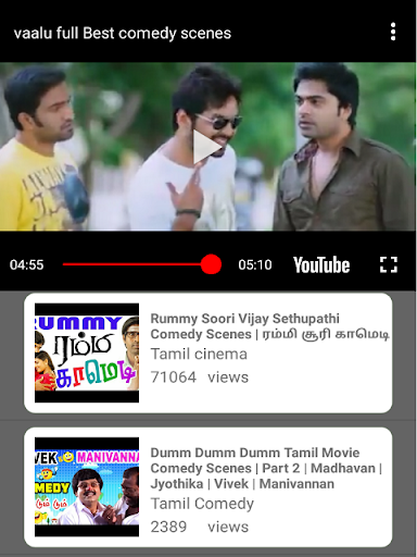 Tamil Movies Comedy & Best T V Comedy Shows Videos 1.5 screenshots 6