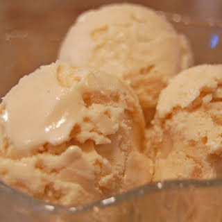 Homemade Coffee Ice Cream.