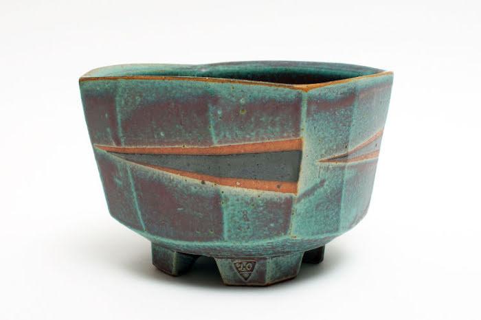 Jeff Oestreich Ceramic Footed Bowl 001